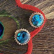 Винтаж handmade. Livemaster - original item The Pacific ocean. Spectacular clips from America. Abalone.. Handmade.