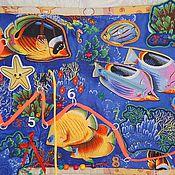 """Куклы и игрушки ручной работы. Ярмарка Мастеров - ручная работа Развивающее панно """" Морской мир"""". Handmade."""