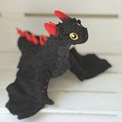 Куклы и игрушки ручной работы. Ярмарка Мастеров - ручная работа Маленький Дрогон, валяный дракон. Handmade.