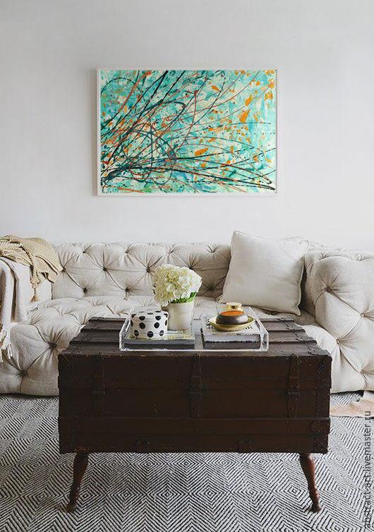 купить картину, абстракция картины, абстракция цветы, картины в холодных тонах, картины для интерьера, купить картины для интерьера, картина масло, абстрактные картины, картины сиреневые, зеленые