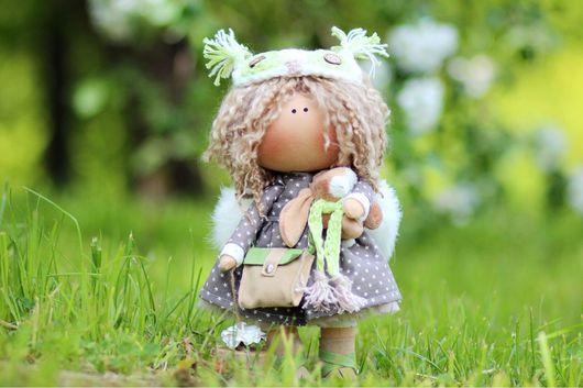 Коллекционные куклы ручной работы. Ярмарка Мастеров - ручная работа. Купить Интерьерная кукла. Handmade. Ангел, ангелочек, ручная работа