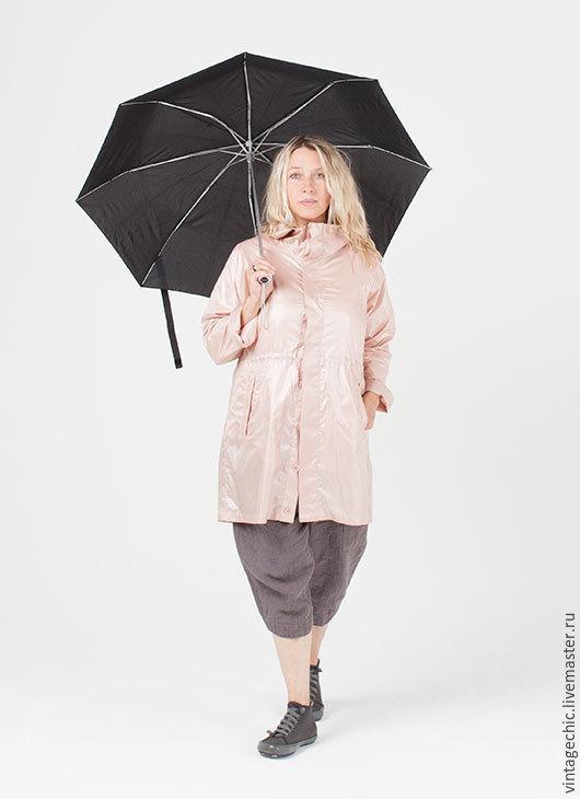 Верхняя одежда ручной работы. Ярмарка Мастеров - ручная работа. Купить Космический плащ розовый art.112a. Handmade.