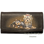 Сумки и аксессуары handmade. Livemaster - original item Wallet leather cardholders