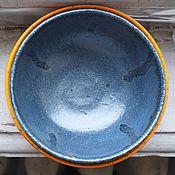 Посуда ручной работы. Ярмарка Мастеров - ручная работа Салатник синий. Handmade.