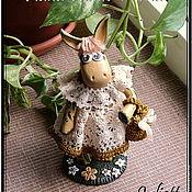 """Куклы и пупсы ручной работы. Ярмарка Мастеров - ручная работа Ослюшка """"Шебби"""". Handmade."""