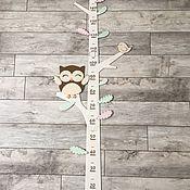 Метрики ручной работы. Ярмарка Мастеров - ручная работа Ростомер «Волшебное дерево». Handmade.