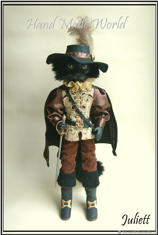 Original interior doll 'puss in boots', Dolls, Ufa,  Фото №1