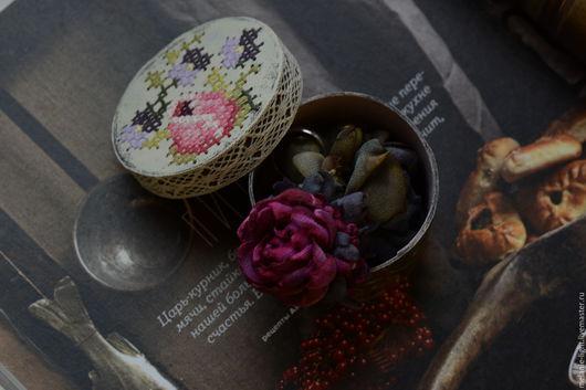 """Кольца ручной работы. Ярмарка Мастеров - ручная работа. Купить Акварельное кольцо """"Фуксия и графит"""". Handmade. Кольцо"""