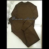 Одежда ручной работы. Ярмарка Мастеров - ручная работа Трикотажный костюм (шерстяной костюм). Handmade.