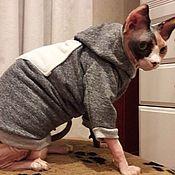 Для домашних животных, handmade. Livemaster - original item Cat clothes