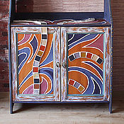 """Для дома и интерьера ручной работы. Ярмарка Мастеров - ручная работа Буфет бохо """"Чарро"""". Handmade."""