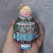 """Подарки к праздникам ручной работы. Ярмарка Мастеров - ручная работа Авторская елочная игрушка """" Принцесса"""". Handmade."""