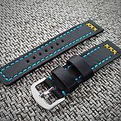 Украшения handmade. Livemaster - original item Watchband leather. Handmade.