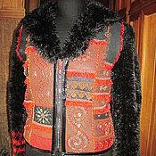 """Одежда ручной работы. Ярмарка Мастеров - ручная работа Куртка """"Пэчворк"""". Handmade."""