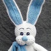 Куклы и игрушки ручной работы. Ярмарка Мастеров - ручная работа Вязаный зайка Соул. Handmade.