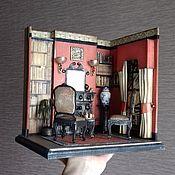 """Румбоксы ручной работы. Ярмарка Мастеров - ручная работа Румбокс """"Английская гостинная"""". Handmade."""