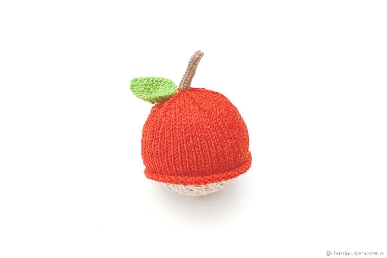 Gorra de manzana para una sesión de fotos de recién nacidos – compra ...