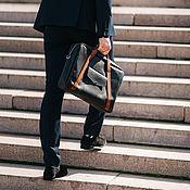 Портфель ручной работы. Ярмарка Мастеров - ручная работа Портфель torden 15 ( Кожаный портфель). Handmade.