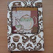 """Канцелярские товары ручной работы. Ярмарка Мастеров - ручная работа Блокнот """"Чайный"""". Handmade."""