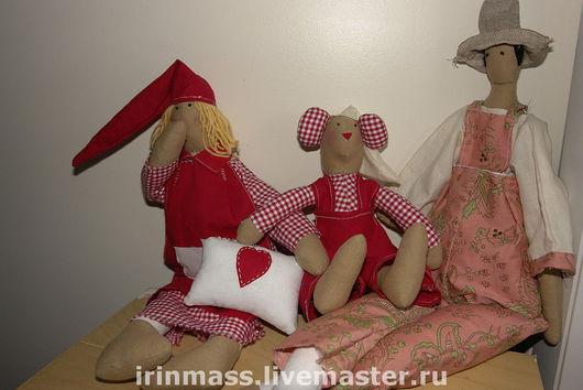 Куклы Тильды ручной работы. Ярмарка Мастеров - ручная работа. Купить tilda. Handmade.