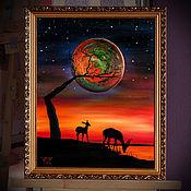 Картины ручной работы. Ярмарка Мастеров - ручная работа Другая планета. Handmade.