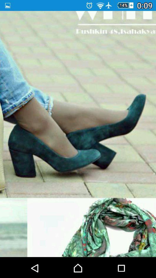 """Обувь ручной работы. Ярмарка Мастеров - ручная работа. Купить Женска лодочка""""Луна-Роза"""". Handmade. Женские туфли, женские лодочки"""