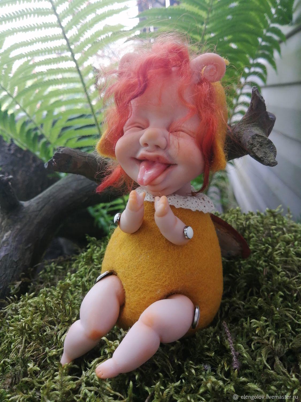 насекомыши Мушка, Портретная кукла, Москва,  Фото №1