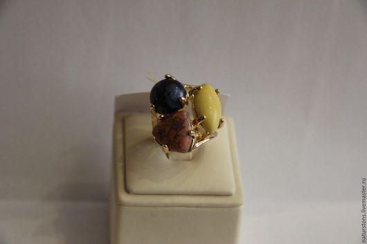 Кольца ручной работы. Ярмарка Мастеров - ручная работа. Купить кольцо с разными камнями. Handmade. Комбинированный, уникальное украшение