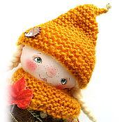 Куклы и игрушки ручной работы. Ярмарка Мастеров - ручная работа ИЛВИ. Дочь лесника. Авторская текстильная куколка. Handmade.