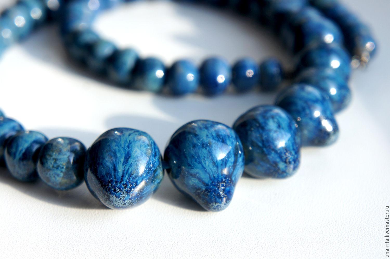 Ceramic beads 'Opal', Jewelry Sets, Severobaikalsk,  Фото №1