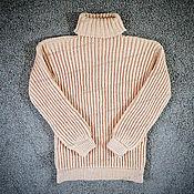Одежда handmade. Livemaster - original item Sweater knitted creme brulee (No. №660). Handmade.