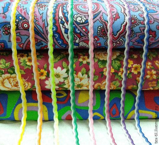 Куклы и игрушки ручной работы. Ярмарка Мастеров - ручная работа. Купить Тесьма Вьюнок двухцветная. Handmade. Тесьма вьюнок