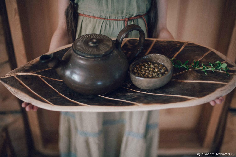 Tray made of Cedar, Trays, Kazan,  Фото №1
