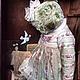 Мишки Тедди ручной работы. Английская роза. Алёна Жиренкина (alenazhirenkina). Ярмарка Мастеров. Плюш, шёлк