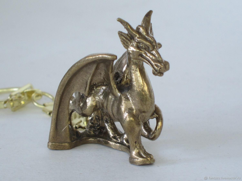 Brass avatar keychain, Key chain, Yaroslavl,  Фото №1