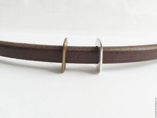 Для украшений ручной работы. Ярмарка Мастеров - ручная работа. Купить Бусина для браслета регализ, прямоугольная, в наличии бронза. Испания. Handmade.