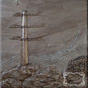 Картины и панно ручной работы. Ярмарка Мастеров - ручная работа Барельеф для завода. Handmade.