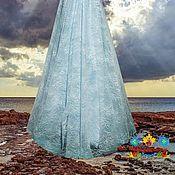 """Одежда ручной работы. Ярмарка Мастеров - ручная работа юбка из кружева """"Облака"""". Handmade."""