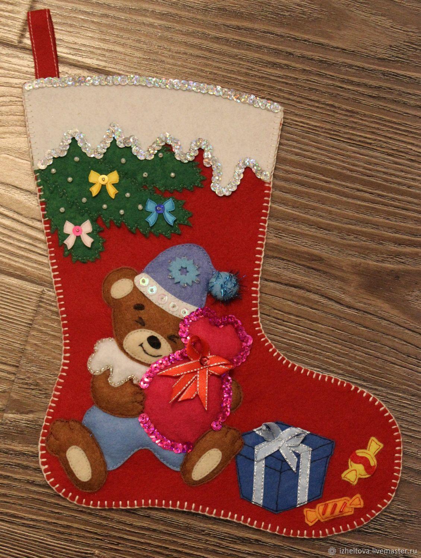 Сапожок для подарков своими руками фото 128
