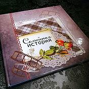 Фотоальбомы ручной работы. Ярмарка Мастеров - ручная работа Фотоальбом: Семейная история - фотокнига из старых фотографий. Handmade.