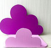 Для дома и интерьера ручной работы. Ярмарка Мастеров - ручная работа Полка детская облако. Handmade.