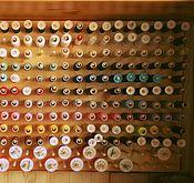 Материалы для творчества ручной работы. Ярмарка Мастеров - ручная работа Стенд для ниток. Handmade.