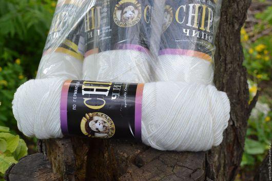 Материалы для творчества.Вязание. Моточная. Пряжа Chipo (Color City) Пряжа.Белый. Купить пряжу для вязания.Chipo (Color City) . Магазин мастера Доминика.