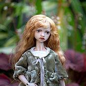 Шарнирная кукла ручной работы. Ярмарка Мастеров - ручная работа Фарфоровая шарнирная кукла. Handmade.