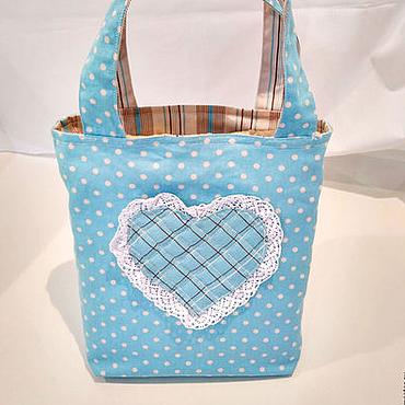 """Работы для детей, ручной работы. Ярмарка Мастеров - ручная работа Детская сумка """"Мечта маленькой Леди"""". Эко-сумка. Handmade."""