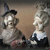 Куклы и игрушки handmade. Livemaster - original item Witches Mrs. Eva and Ruby Harris Price per pair. Handmade.