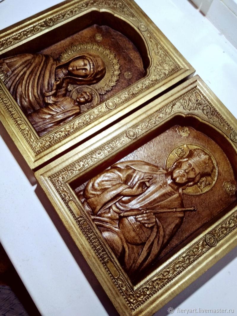 Икона Венчальная пара, Иконы, Переславль-Залесский,  Фото №1