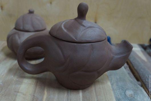 Чайники, кофейники ручной работы. Ярмарка Мастеров - ручная работа. Купить чайный набор. Handmade. Коричневый, сахарница, подарок, глина