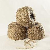 Волосы для кукол ручной работы. Ярмарка Мастеров - ручная работа Мохер Букле для кукольных волос пряжа Адель. Handmade.