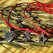 Фен-шуй и эзотерика ручной работы. Ярмарка Мастеров - ручная работа Амулеты на красной нити. Handmade.